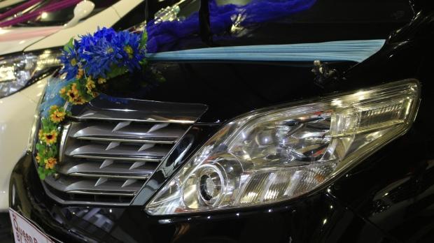 sewa mobil pengantin di bsd