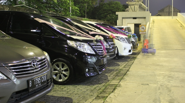 sewa wedding car pamulang
