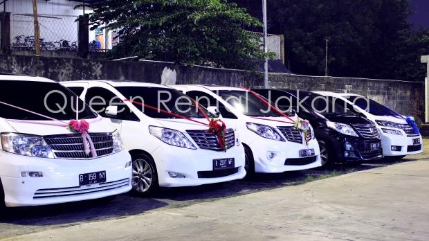 harga sewa Alphard di Tangerang